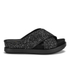 Ash Women's Secret Glitter Slide Sandals - Black/Black/Black: Image 1