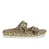 Ash Women's Utopia Studded Snake Print Double Strap Sandals - Desert/Wilde: Image 1
