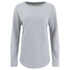 Derek Rose Women's Devon Sweat Top - Light Grey: Image 1