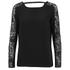 VILA Women's Unless Long Sleeve Top - Black: Image 1