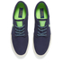 Polo Ralph Lauren Men's Faxon Canvas Trainers - Newport Navy/ Ultra Lime: Image 2