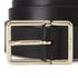 Paul Smith Accessories Women's Leather Contrast Belt - Black: Image 3