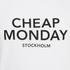 Cheap Monday Men's Standard Logo T-Shirt - White: Image 3