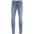 Cheap Monday Men's Tight Skinny Jeans - Stonewash Blue: Image 1
