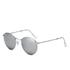 Ray-Ban Round Metal Sunglasses - Matte Silver: Image 2