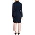 HUGO Women's Mintu Trench Coat - Blue: Image 3