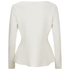 HUGO Women's Scilly Knitted Jumper - White: Image 3