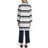 HUGO Women's Micola Striped Coat - Multi: Image 3