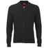 HUGO Men's Donso Baseball Collar Zip Top - Black: Image 1