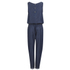 BOSS Orange Women's Adenny Jumpsuit - Dark Blue: Image 2