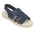 Prism Women's Palawan Tie Front Sandals - Marine: Image 5