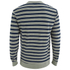 OBEY Clothing Men's Cypress Park Crew Sweatshirt - Navy/Green: Image 2