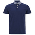 GANT Rugger Men's Striped Collar Jersey Polo Shirt - Shadow Blue: Image 1