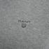 GANT Men's Light Weight Cotton Crew Neck Jumper - Grey Melange: Image 3