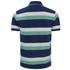 GANT Men's Striped Pique Rugger Polo Shirt - Jelly Green: Image 2