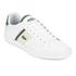 Lacoste Men's Fairlead 116 1 Leather Trainers - White: Image 4