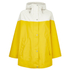 Ilse Jacobsen Women's Contrast Cape - Cyber Yellow: Image 1