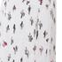 KENZO Women's Poly Cartoon Cactus Dress - White: Image 4