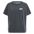 Under Armour Womens Studio Terry Short-Sleeve Sweatshirt - Grey: Image 1