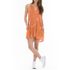 OBEY Clothing Women's Capricorn Dress - Apricot Multi: Image 2