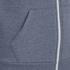 Soul Star Men's Berkley Zip Through Hoody - Airforce Melange: Image 3