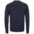 AMI Men's Crew Neck Sweatshirt - Navy: Image 2