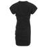 Alexander Wang Women's Draped Bustier T-Shirt Dress - Onyx: Image 2