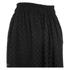 Carven Women's Laser Cut Long Skirt - Black: Image 3