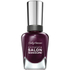 Sally Hansen Complete Salon Manicure Nail Colour - Pat On the Black 14.7ml: Image 1