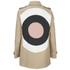 REDValentino Women's Bullseye Back Trench Coat - Beige: Image 2