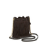 Elizabeth and James Women's Fringed Pouch Bag - Chocolate: Image 2