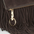 Elizabeth and James Women's Andrew Clutch Bag - Chocolate: Image 3