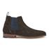 Ted Baker Men's Camroon 4 Suede Chelsea Boots - Dark Brown: Image 1