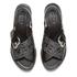 KENZO Women's Kruise Buckle Leather Sandals - Black: Image 2
