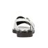 KENZO Women's Kruise Buckle Leather Sandals - White: Image 3
