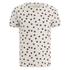 Oliver Spencer Men's Shapes T-Shirt - Oatmeal/Burgundy: Image 1