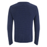 Oliver Spencer Men's Ripple Stitch Crew Neck Jumper - Indigo: Image 2