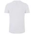 Luke Men's Flame Printed Crew Neck T-Shirt - White: Image 2