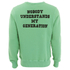 TSPTR Men's Charlie Brown Crew Neck Sweatshirt - Green: Image 2