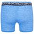 Crosshatch Men's Lightspeed 2-Pack Boxers - Neon Blue/Black: Image 3