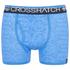 Crosshatch Men's Lightspeed 2-Pack Boxers - Neon Blue/Black: Image 2