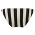 Solid & Striped Women's The Morgan Bikini Bottom - Black & Cream: Image 2