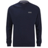 Barbour International Men's Small Logo Sweatshirt - Navy: Image 1