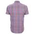 Barbour Men's James Tattersall Short Sleeve Shirt - Red: Image 2