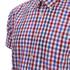 Barbour Men's James Tattersall Short Sleeve Shirt - Red: Image 3