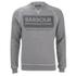 Barbour International Men's Logo Sweatshirt - Grey Marl: Image 1