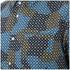 YMC Men's Spot Cloud Short Sleeve Shirt - Blue: Image 3