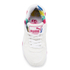 Puma Women's R698 Blur Low Top Trainers - White/Rose Red: Image 3