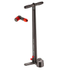 Lezyne Steel Digital Drive Track Pump ABS2 - Black: Image 1