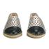 Loeffler Randall Women's Mara Perforated Espadrilles - Silver/Black: Image 4